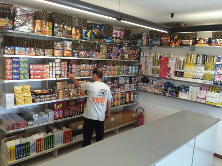 negozio Piroblu fireworks tarcento
